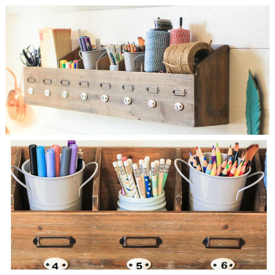 Craft Room Organization Containers