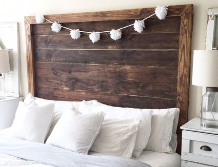 25 stylish diy headboards you can make in a weekend or less