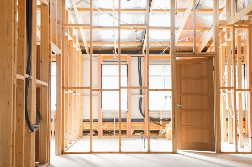 Home construction interior