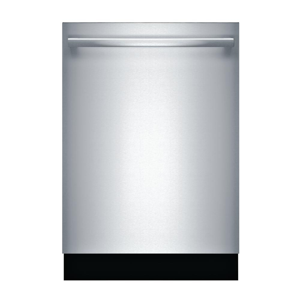 Best Top Control Bosch 800 Series Tall Tub Bar Handle Dishwasher In Stainless Steel