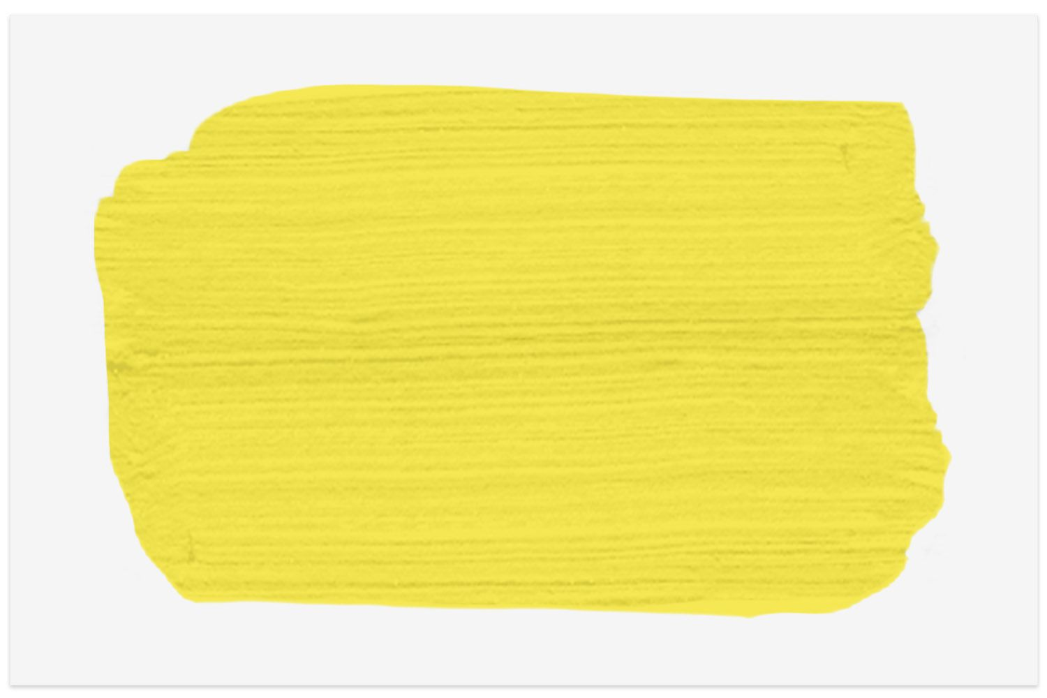 Bright Yellow Victorian paint swatch