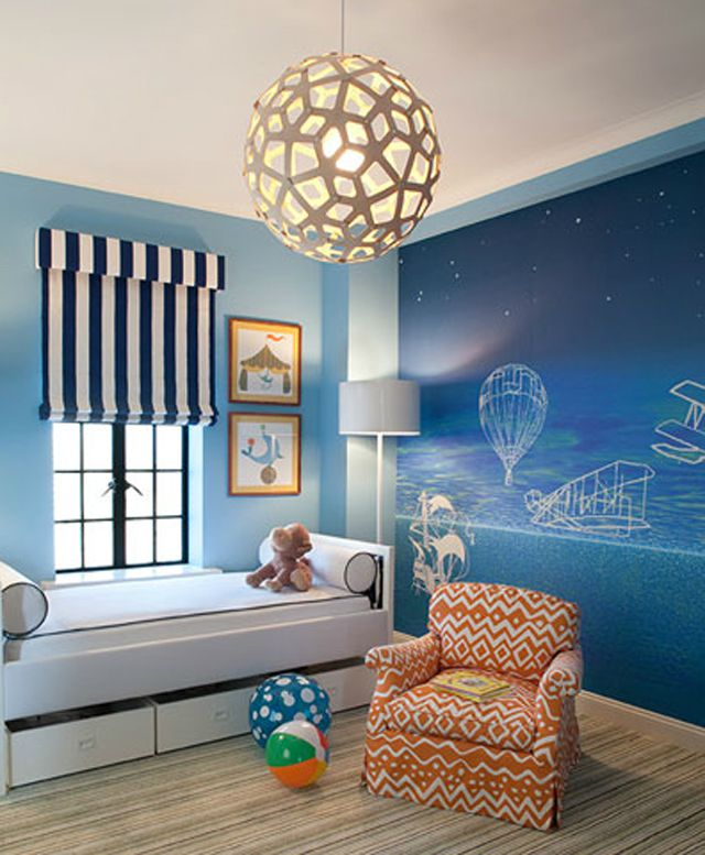 Factory Paint Decorating Color Filled Nurseries: 19 Statement-Making Light Fixtures For The Nursery
