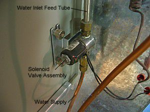 Humidifier Solenoid Valve Embly