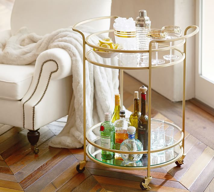 12 Essentials For Your Perfect Bar Cart