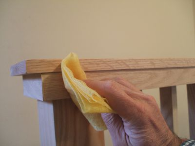 Wood Putty for Strong Bond - Wipe Dust with Tack Cloth
