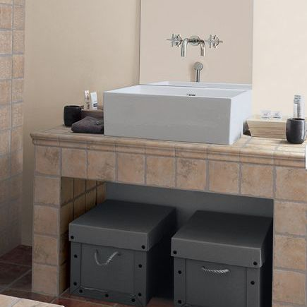 Tile Counter Ideas For Kitchens And Baths Unique Bathroom Counter Ideas