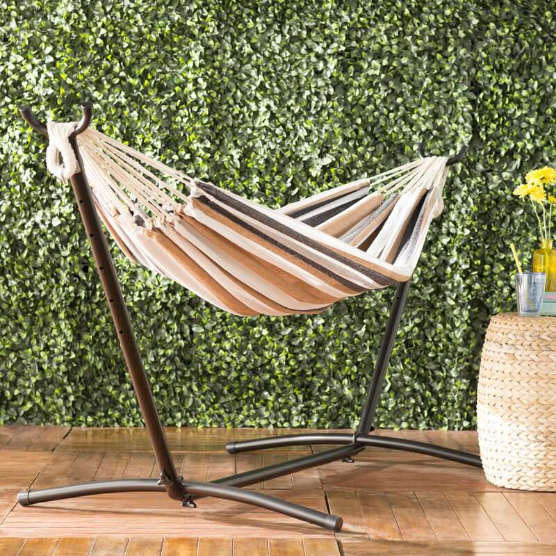 Freeport Park Mira Double Classic Hammock with Stand