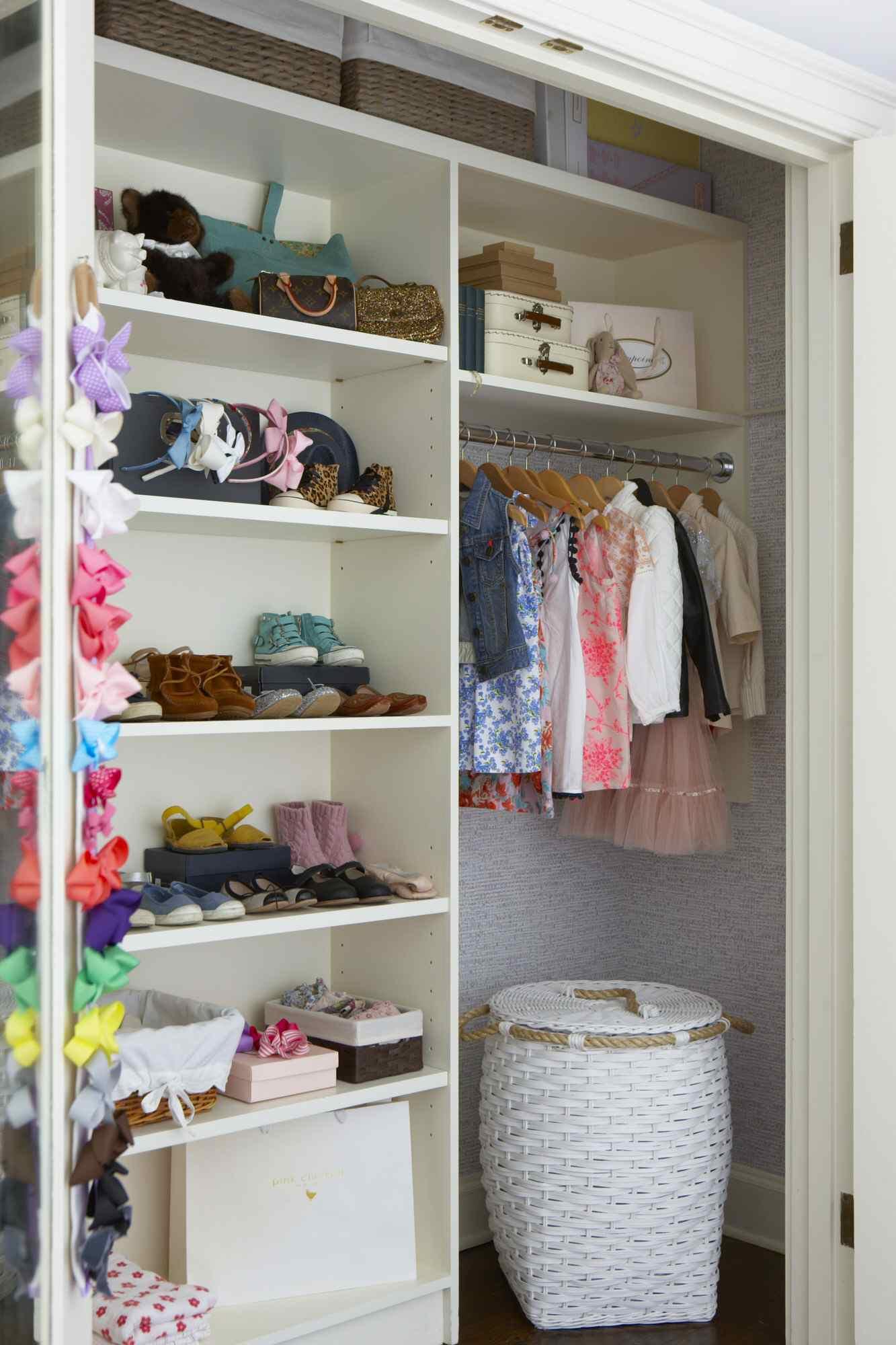 Children's bedroom closet Bronxville