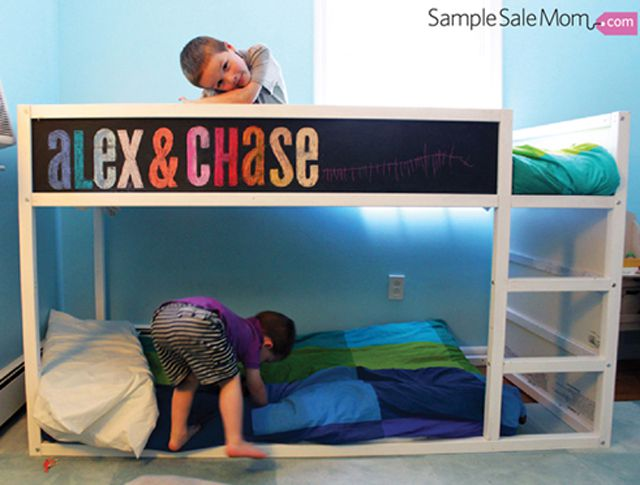 huge selection of a2194 b6e42 12 Amazing IKEA KURA Bed Hacks for Toddlers