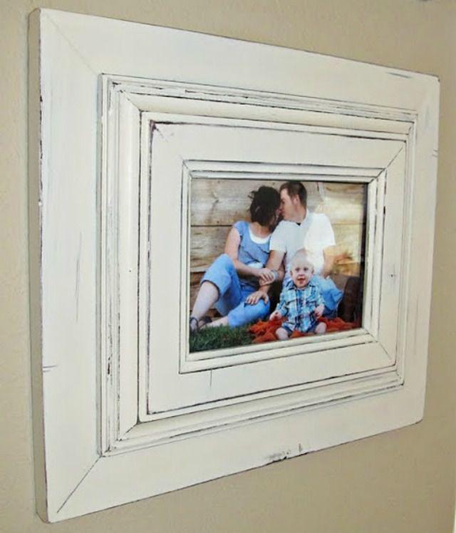 Two frames glued together