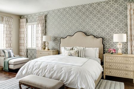 Sophisticated Hollywood Regency Bedroom