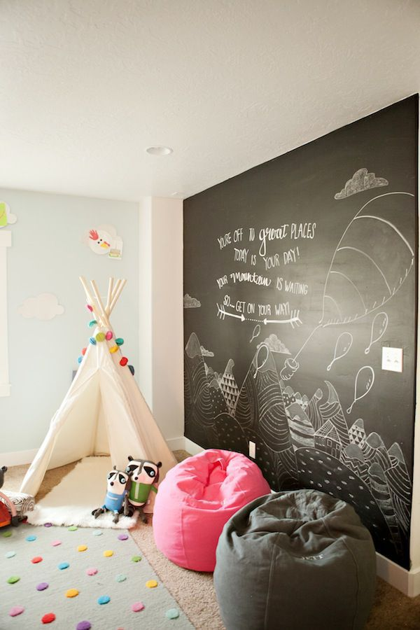 DIY Chalkboard Paint Ideas For Nurseries Kids Rooms
