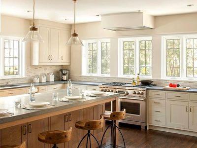 limestone countertops traditional kitchen
