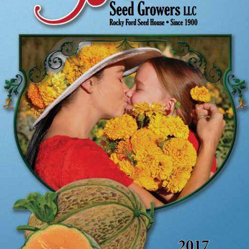 El catálogo de productores de semillas Burrell para 2017