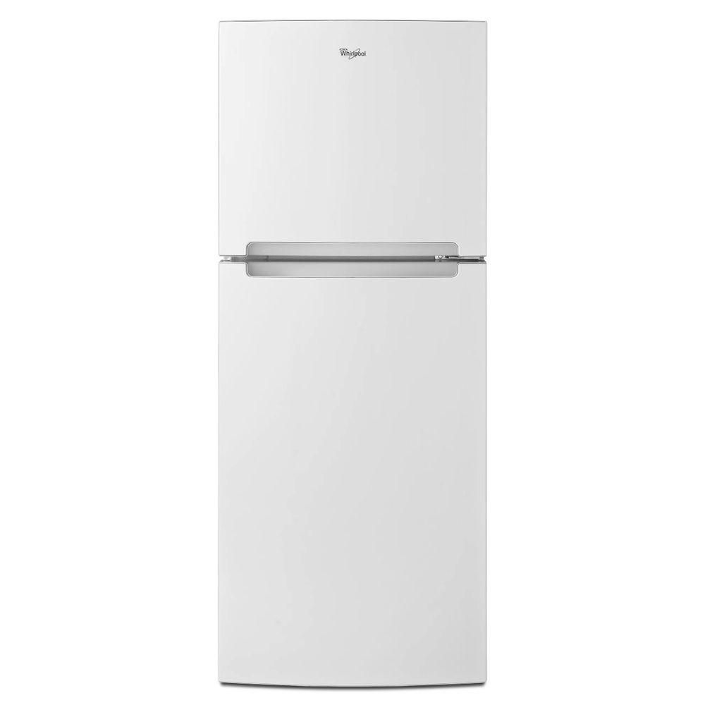 Best Narrow Fridge With Ice Maker Whirlpool Top Freezer Refrigerator