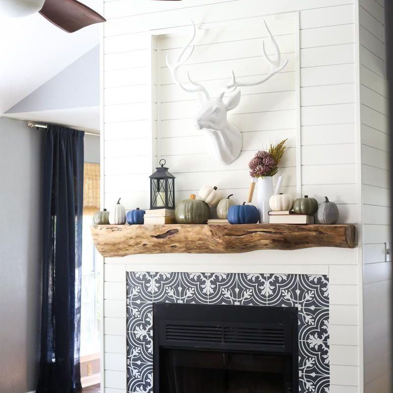 Before And After Fireplace Makeovers, How To Reface A Fireplace With Tile