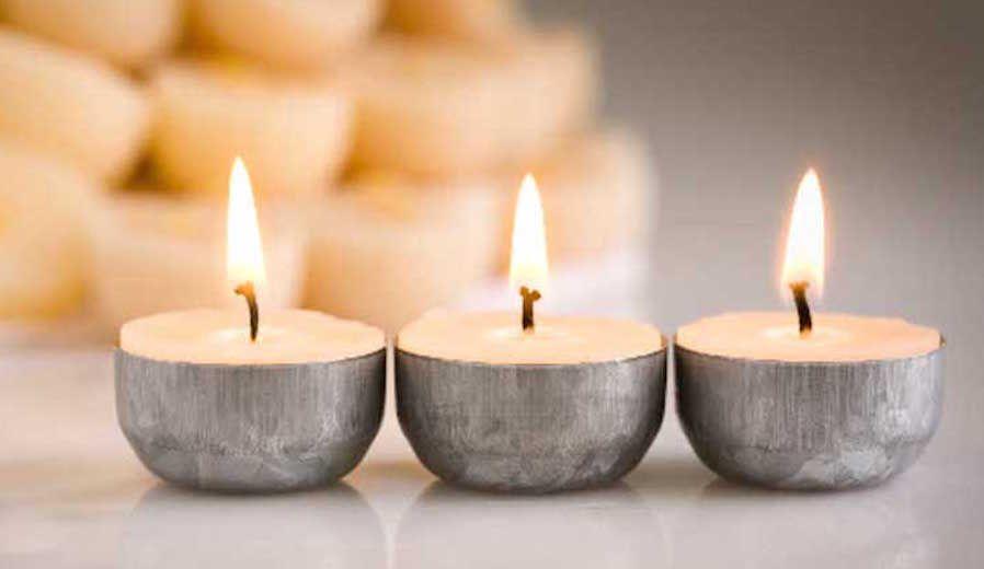 velas con aroma natural