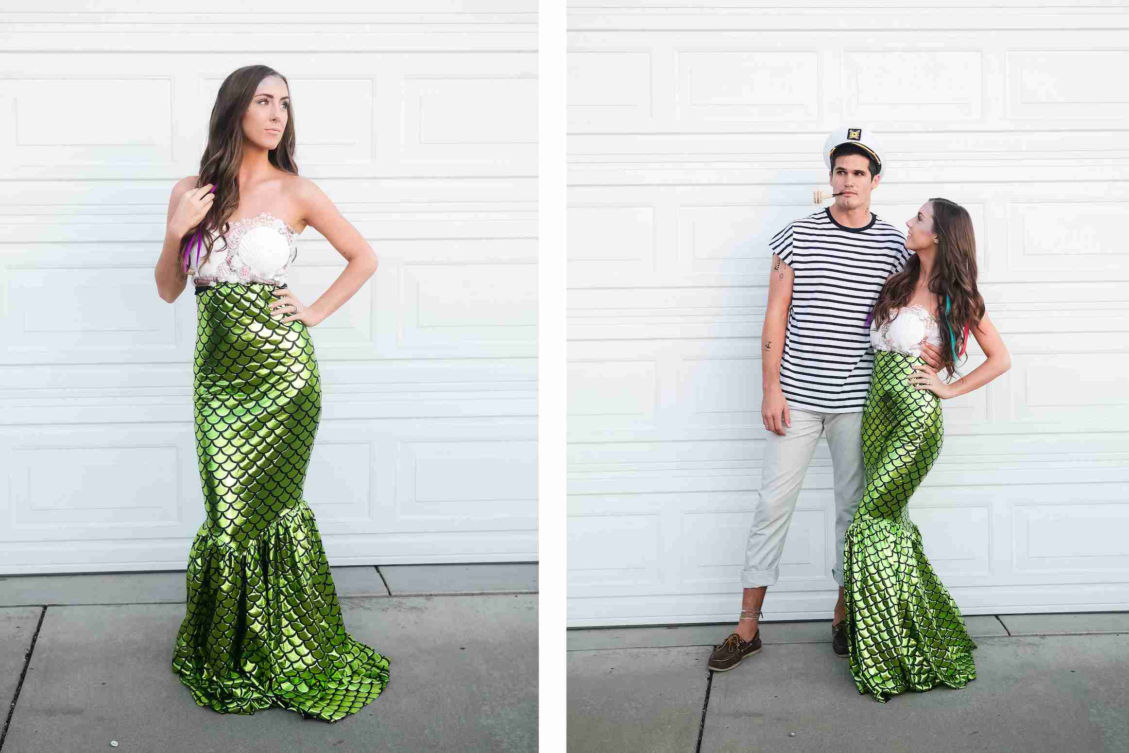 mermaid and sailor custome