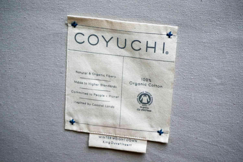 Coyuchi Winter Weight Down Duvet Insert