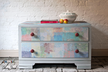 Annie Sloan chalk painted drawer