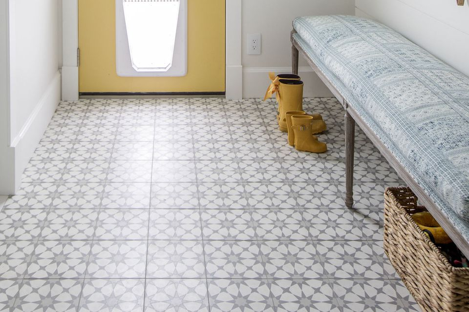 27 Flooring Ideas For Entryways