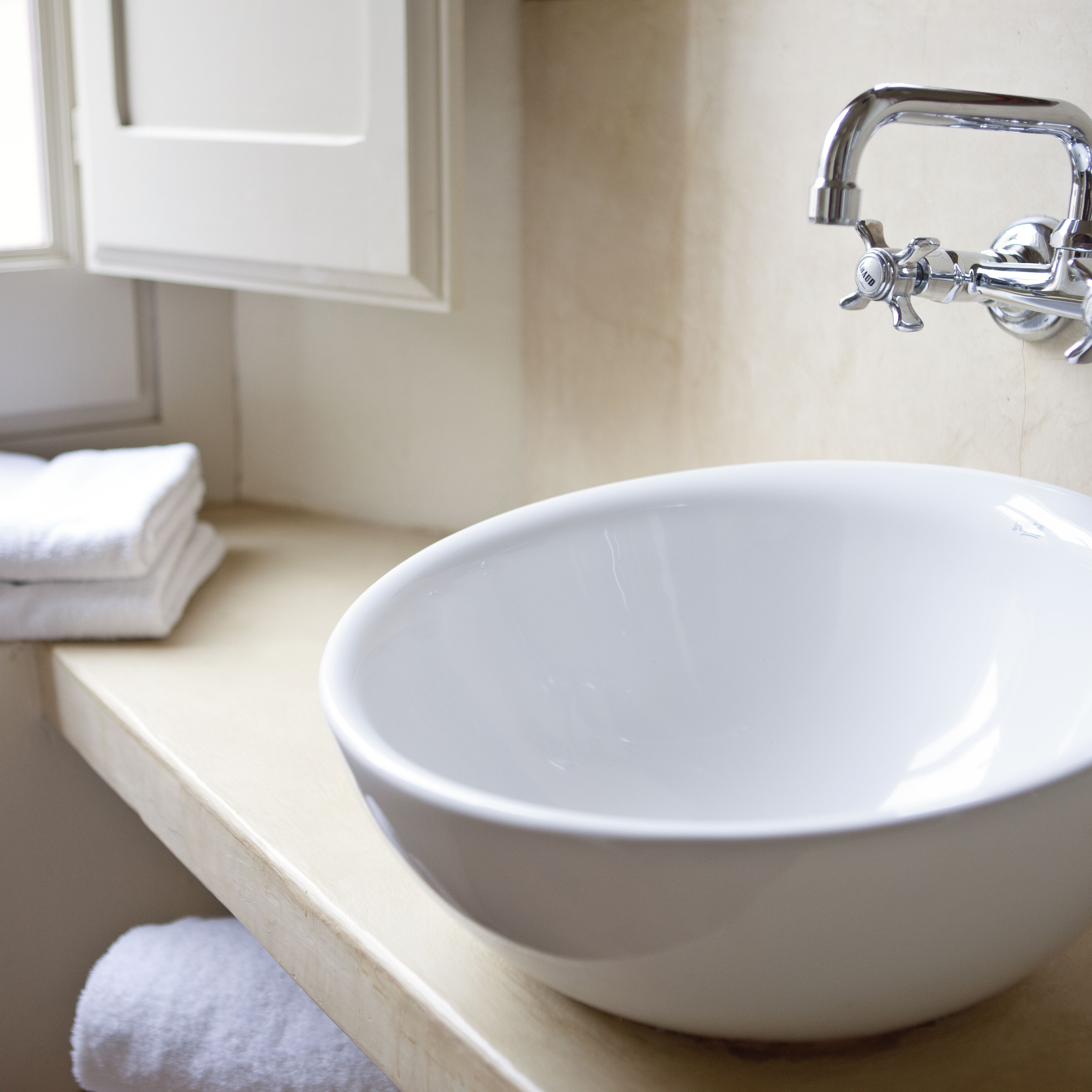 R Bathroom Glass Vessel Basin Sinks Bowl Waste Pop-up Drain With Taps