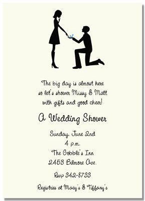 Bridal Shower and Engagement Party Invitations