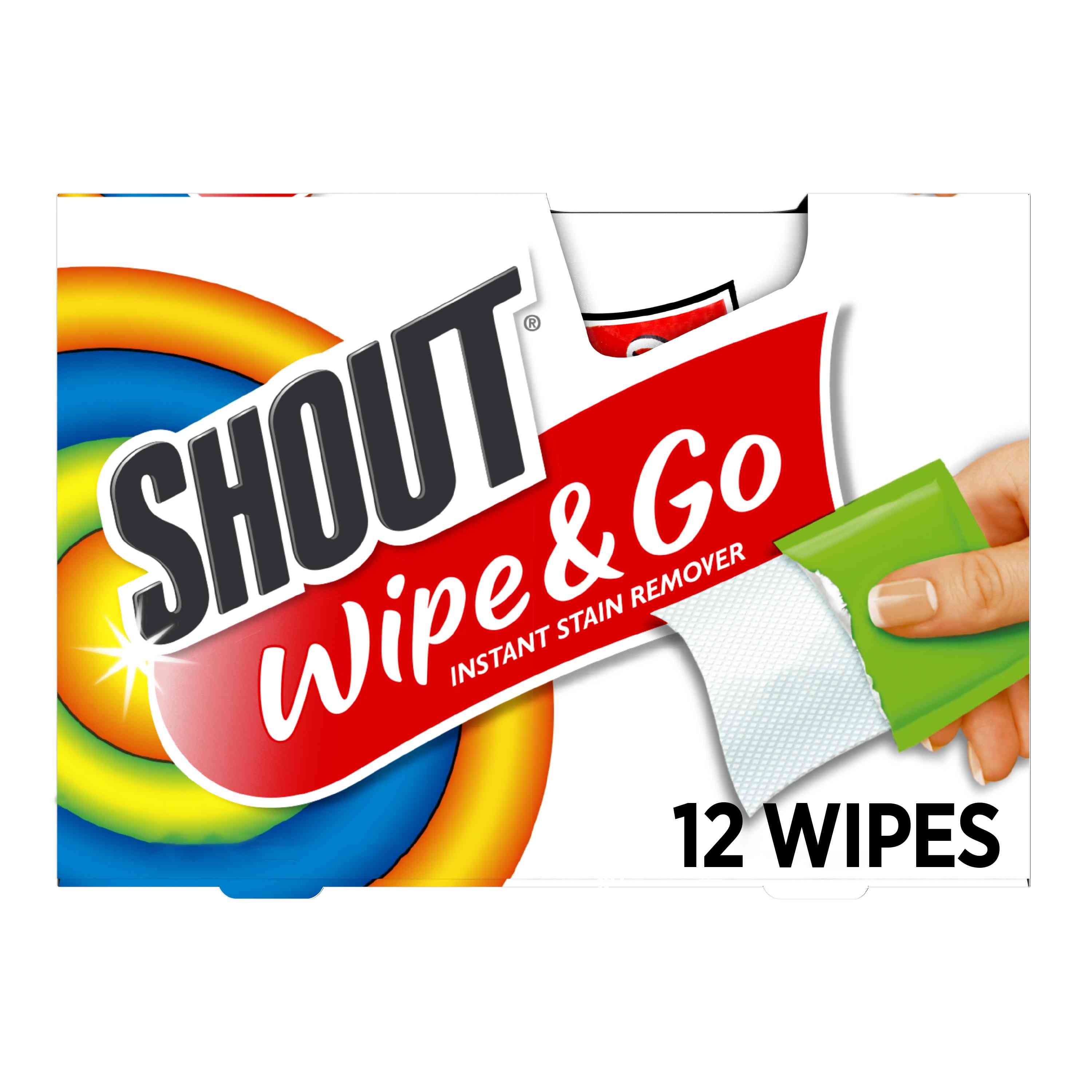 SC Johnson Shout Instant Stain Remover Wipes