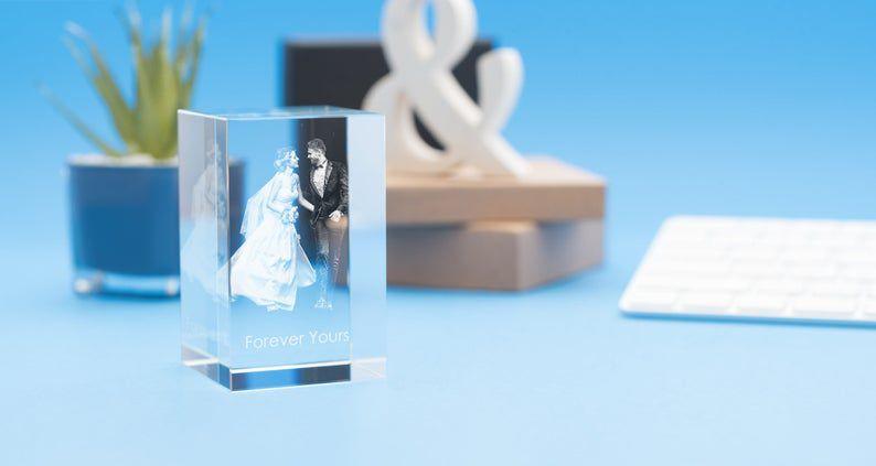CCMShop 3D Tower Portrait Crystal