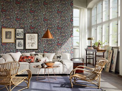 25 Modern Ways To Use Floral Wallpaper Paint Ideas