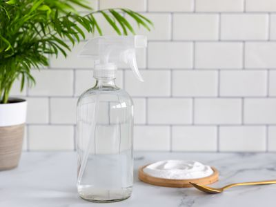 ingredients for baking soda spray