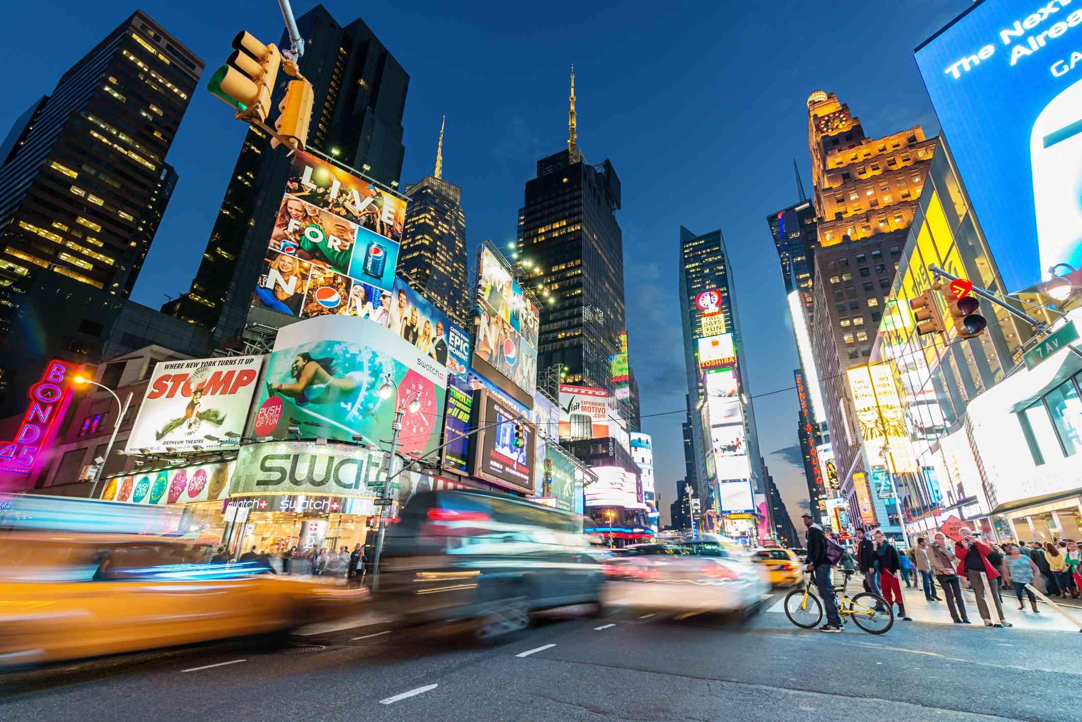 Times Square de la ciudad de Nueva York