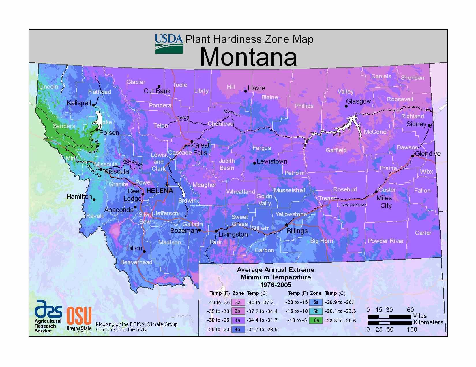 Photo of Montana Hardiness Zones