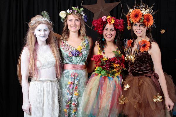 four season halloween costume