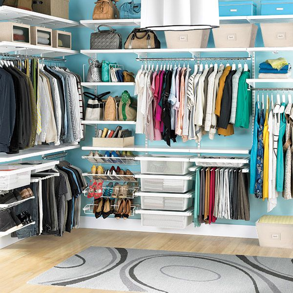 Cut down on closet clutter