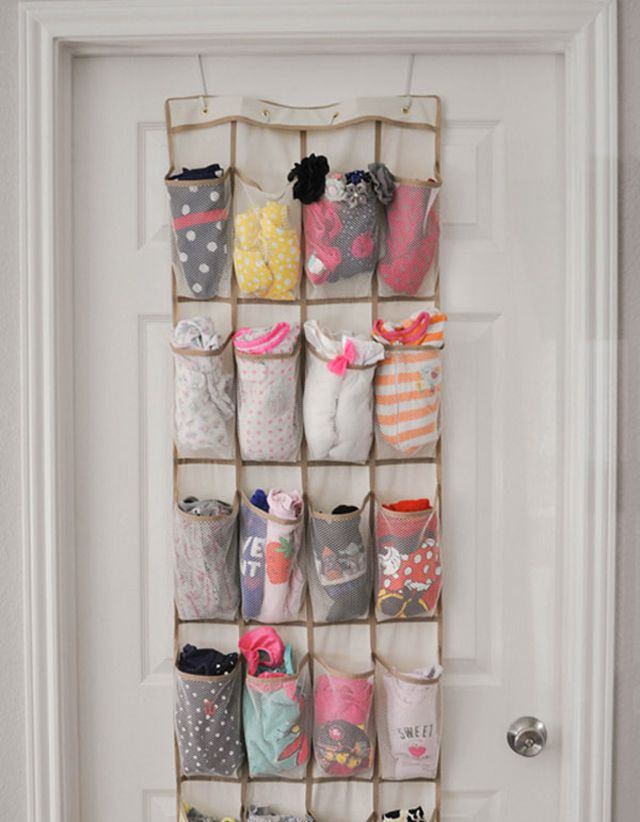 17 Ways You Can Organize Baby Clothes