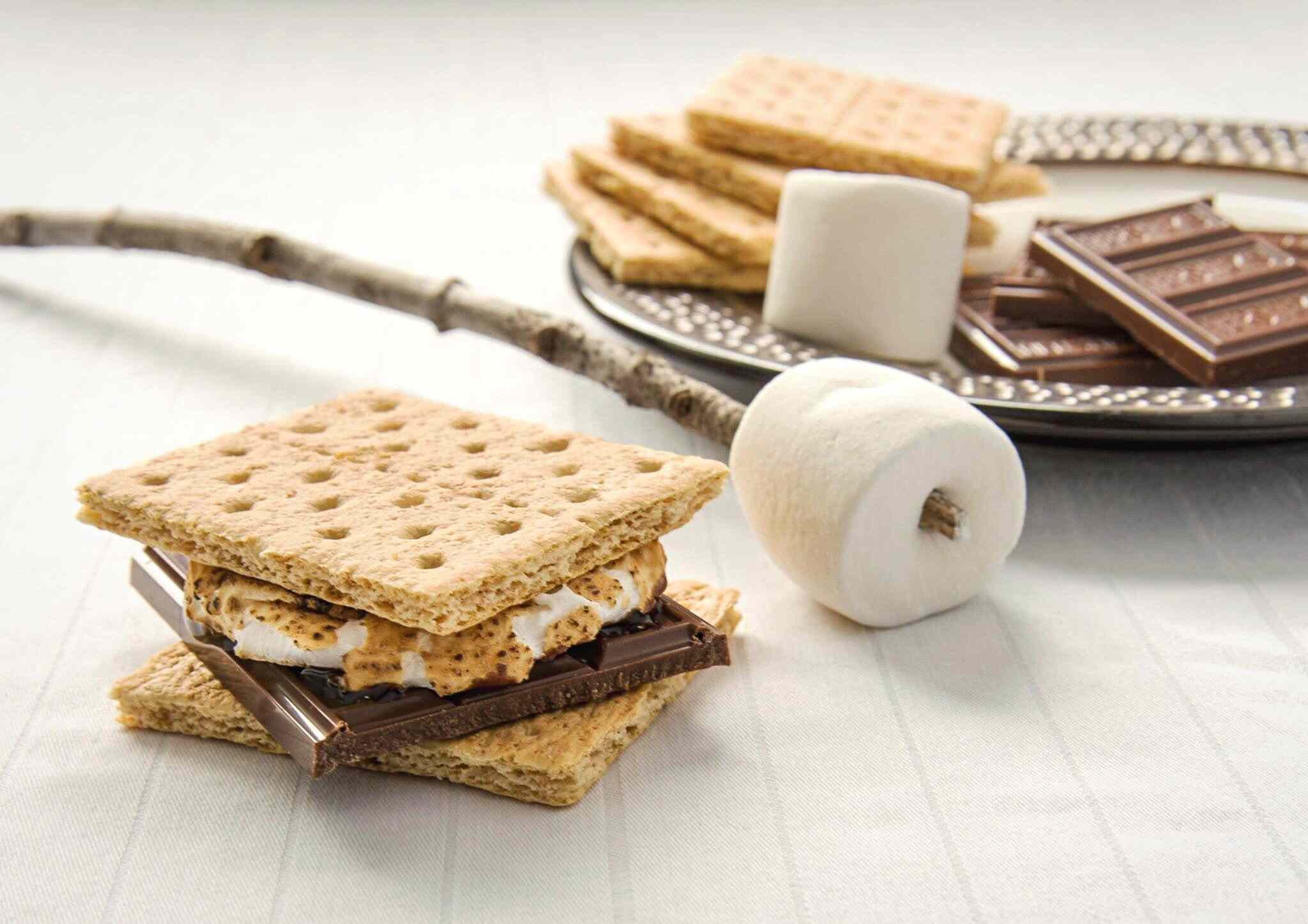 Smores On Table