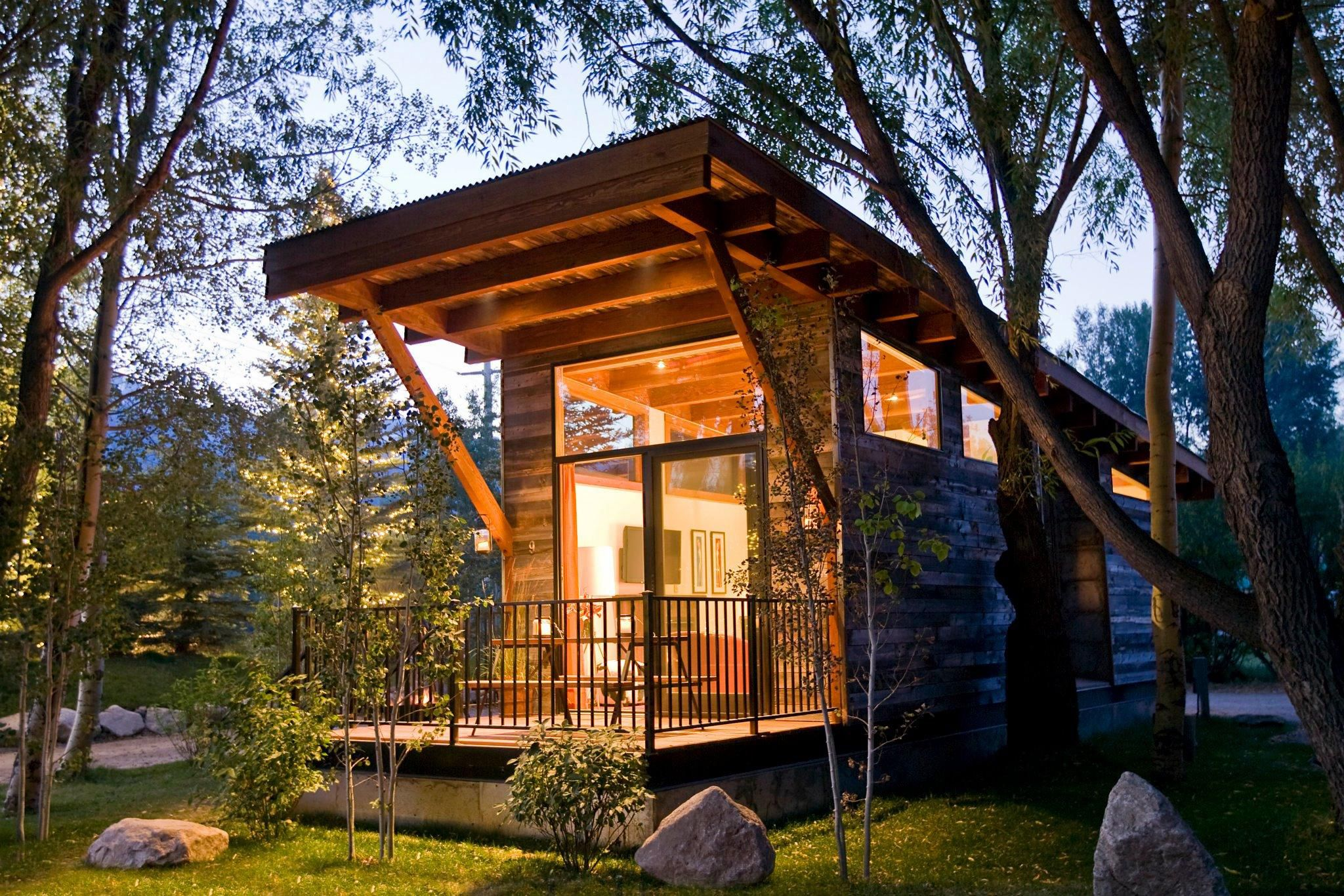 18 Small Cabins You Can Diy Or Buy For 300 And Up How To Build Tin Cabin