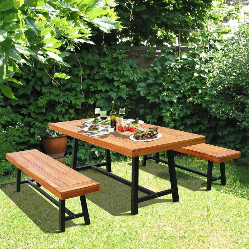 Malachi Outdoor Dining Set