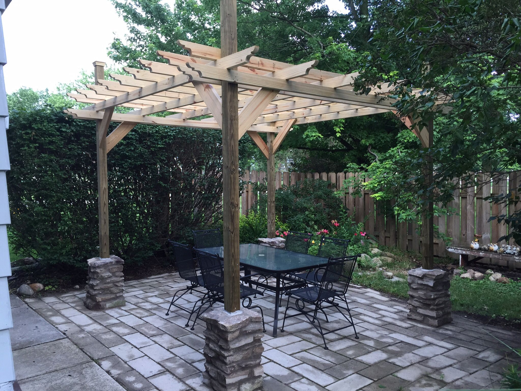 Astonishing 17 Free Pergola Plans You Can Diy Today Gmtry Best Dining Table And Chair Ideas Images Gmtryco