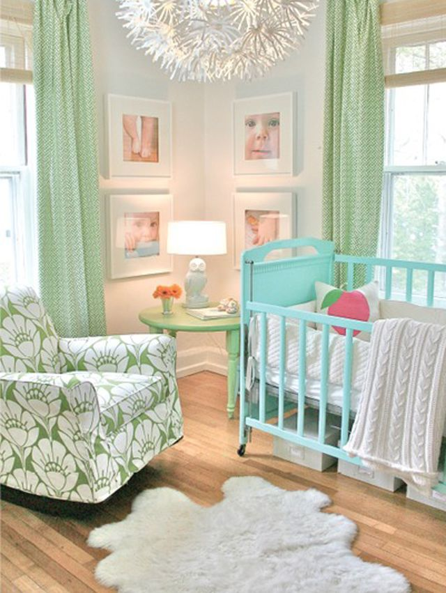 Gender-Neutral Color Schemes For Baby's Nursery