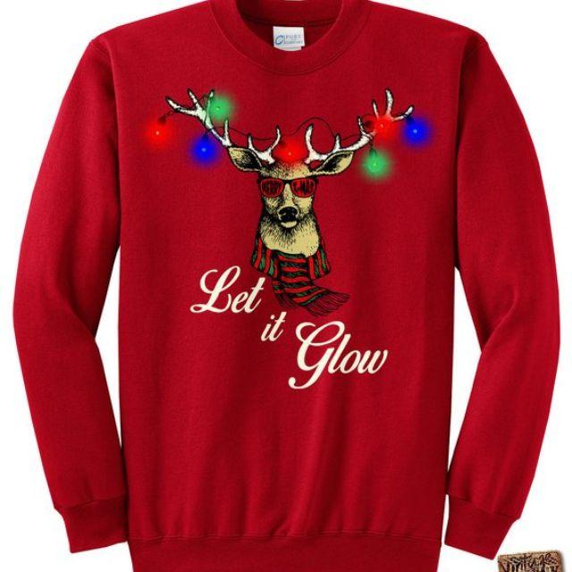72020dbc863 Best Light Up  Light Up LED Ugly Christmas Sweatshirt