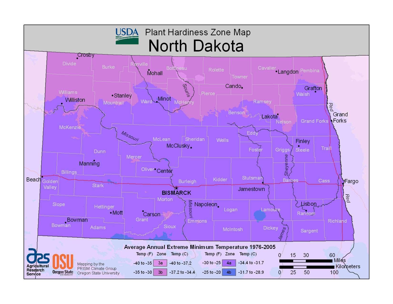 Photo of North Dakota Hardiness Zones