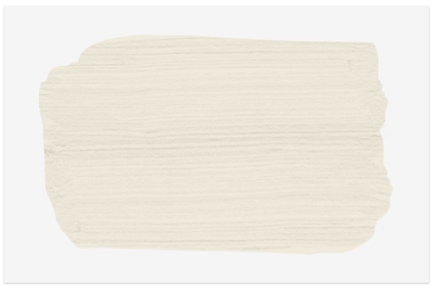 Sherwin-Williams Dover White swatch