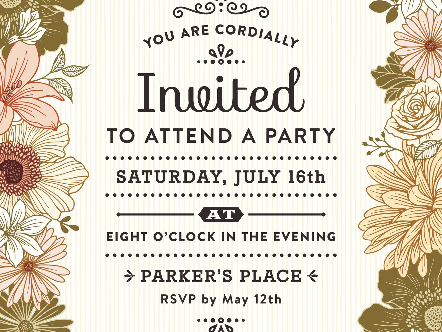 Incredible How To Write A Party Invitation Personalised Birthday Cards Paralily Jamesorg