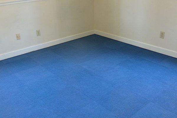 Installing Carpet Tiles