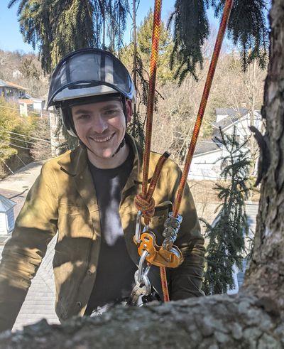 Andrew Hughes certified arborist