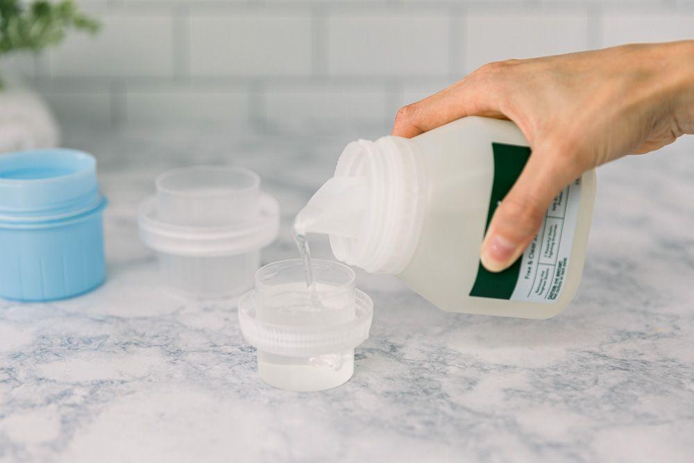 using extra detergent