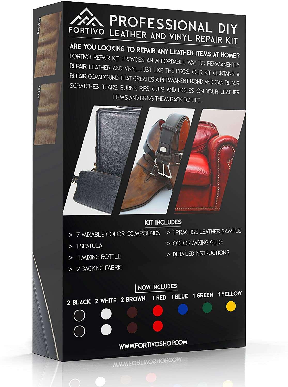 FORTIVO Leather and Vinyl Repair Kit