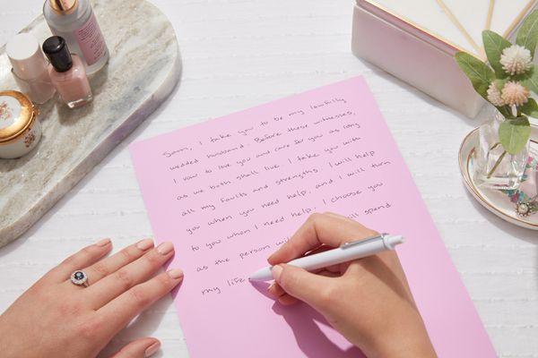 writing sample wedding vows
